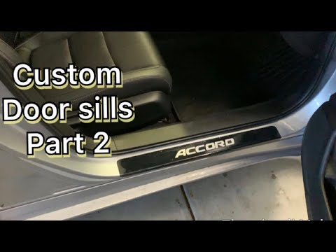 2018 2019 Honda Accord- How to protect your door sills