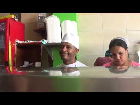 STREET FOOD IN DOMINICAN REPUBLIC (ZONA COLONIAL) SANTO DOMINGO