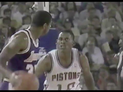 Dennis Rodman shuts down Magic Johnson - 1988 Finals Game 5