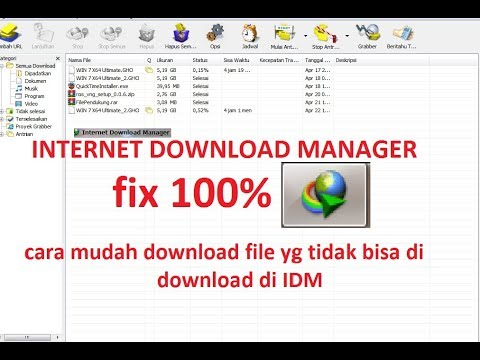 Solusi Download File GoogleDrive Gagal Resume di IDM, 1000% Work :3.