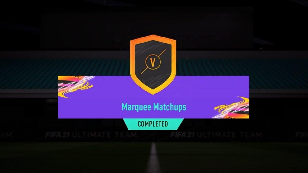 Marquee Matchups! Week 5! (FIFA 21 - Ultimate Team)