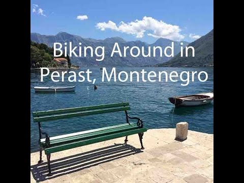 PERAST: Bike ride along the Bay of Kotor in Montenegro