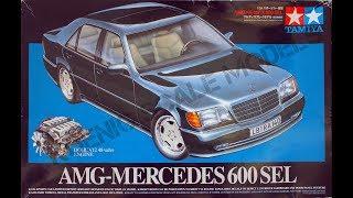 Обзор AMG-Mercedes 600 SEL Tamiya 1/24 (сборные модели)