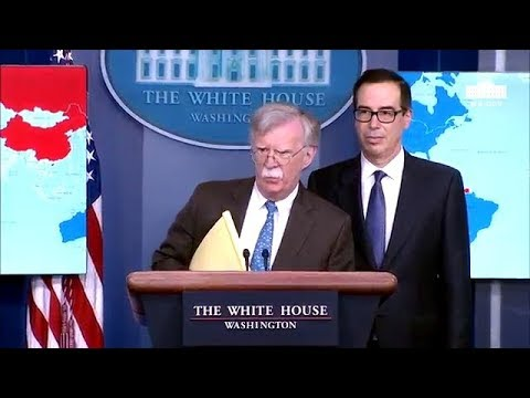 John Bolton Expresses Great Concerned About Iran's Interests In Venezuela! White House Daily Brief