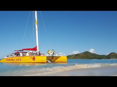 ⛵ Antigua Wadadli Cats Cruise Catamaran Circumnavigation 2017 (Sony VG10)