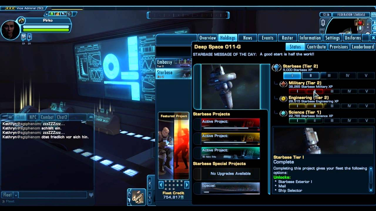 Star trek online how to get a bartender