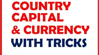COUNTRY CAPITAL AND CURRENCY WITH TRICKS @ MAHALAKSHMI ACADEMY