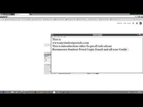 Rasmussen Student Portal Login Email and all user Guide