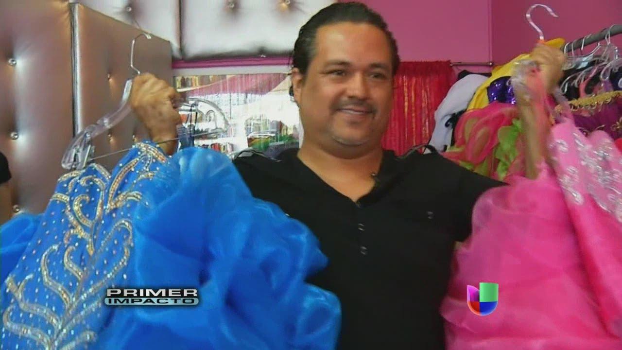 Diseñador De Jenni Rivera Regaló Vestidos A Quinceañeras Primer Impacto
