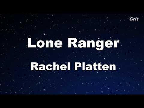 Lone Ranger - Rachel Platten Karaoke 【With Guide Melody】Instrumental