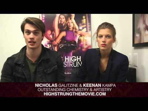 NICK &  KEENAN Stars of the movie HIGH STRUNG
