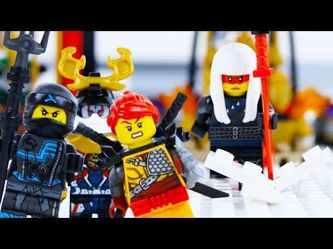 LEGO Ninjago Season 9 STOP MOTION LEGO Ninjago: Thrownroom Showdown | LEGO Ninjago | Billy Bricks