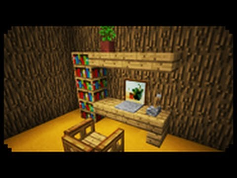 Minecraft How To Make A Home Office YouTube
