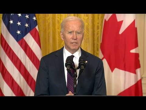 """Biden wants Michael Kovrig and Michael Spavor released: """"Human beings are not bargaining chips"""""""