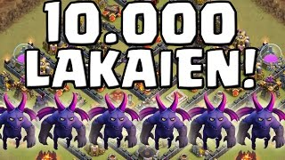 10.000 LAKAIEN! || CLASH OF CLANS || Let's Play CoC [Deutsch/German HD Android iOS PC]