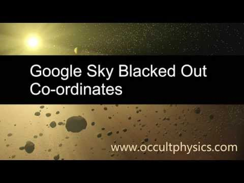Google Sky Blacked Out