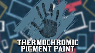 Thermochromic Pigment Paint