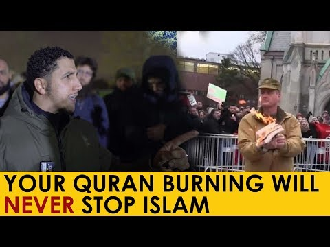 A Message Concerning QURAN Burning In Norway | Shamsi At Speakers Corner
