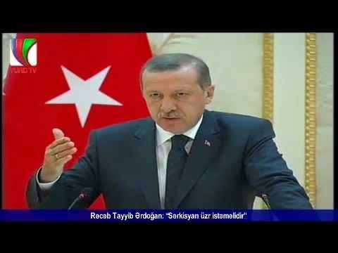 Tayyip Erdogan ve Ilham Aliyev Sarkisyani Rezil Etti (Ermenileri lafa tutdular)
