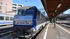 [1/3] De Bâle à Strasbourg en cabine d'une BB 26000 - TER 200