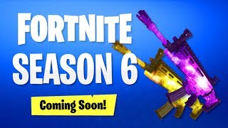 "SEASON 6 WEAPONS SKINS LEAKED! (Fortnite Battle Royale) NEW ""FORTNITE SEASON 6 WEAPON SKINS"" LEAKED!"