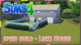 The sims 4 : Speed build - Linzi House 🏡🦇😙 😚