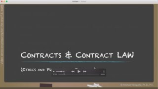Engineering Ethics - Part 05: Contracts and Contract Law