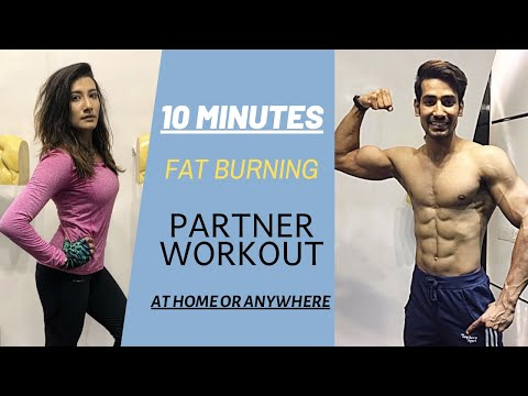 How To Lose Weight Fast? 10 Minute Partner Workout | Fat Burning HIIT Workout | Weight Loss At Home