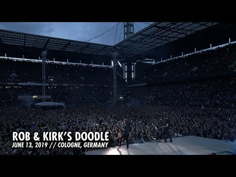 Metallica: Rob & Kirk's Doodle (Cologne, Germany - June 13, 2019)
