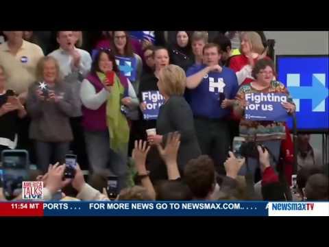 America Talks Live   Nick Tate on Hillary Clinton's health issues