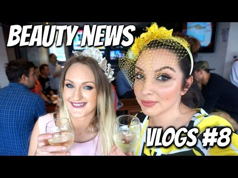 BEAUTY NEWS  - Vlog #8 | Melbourne Cup Day 2016