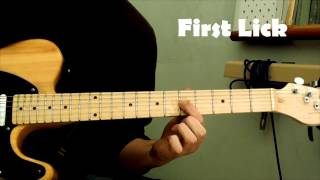 Blues Guitar Lesson - Three Tasty Blues Licks in the key of A