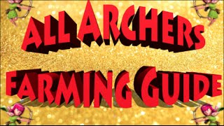 Clash of Clans- How to Farm LOOTS With All Archers! (All Archer Farming Guide)