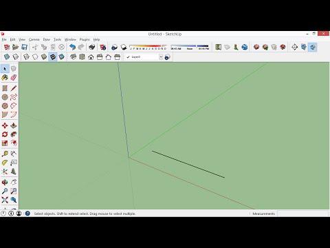 Fixing Broken Lines in SketchUp