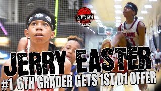 Number ONE 6th Grader IN THE NATION Jerry Easter EARNS 1st Division 1 offer to BOWLING GREEN