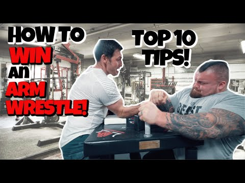 How to WIN an Arm Wrestle with 3x WORLD CHAMPION! Ft Neil Pickup