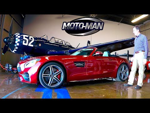 2018 Mercedes AMG GT Roadster & GT C Roadster TECH REVIEW (1 of 2)