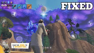 THE GETAWAY LTM GAMEPLAY with WILD CARD in FORTNITE MOBILE (LAG is GONE!)