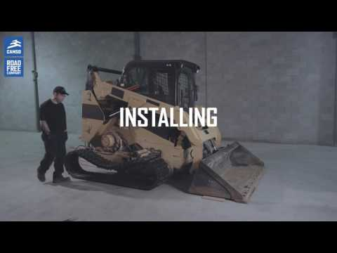 How to install Camso CTL tracks for Compact track loader