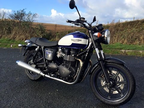 Triumph Bonneville Newchurch Test Ride