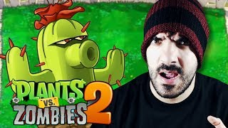 EL CACTUS ⭐️ Plants vs Zombies 2 | iTownGamePlay