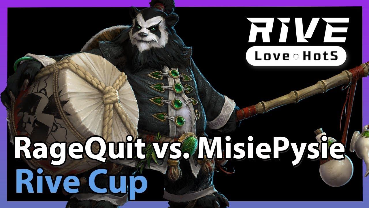 RageQuit vs. MisiePysie - Rive Cup - Heroes of the Storm