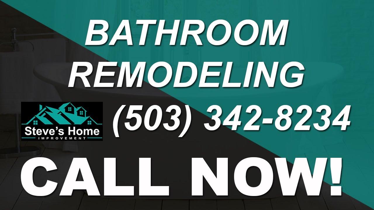 Bathroom Remodel Portland Oregon Remodeling Contractors Youtube