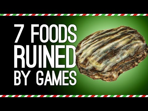 7 Festive Foods Ruined by Being Disgusting in Video Games