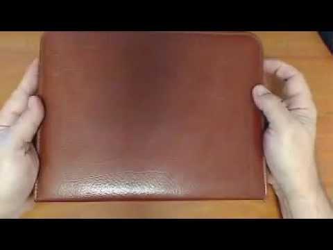 Kent From Oz reveals a Vintage Kangaroo Leather Portfolio