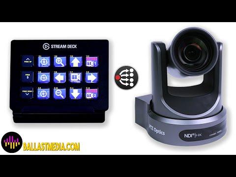 Stream Deck and PTZOptics Camera Control
