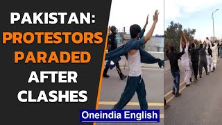 Pakistan protestors paraded | Violence in Lahore, Karachi | Oneindia News