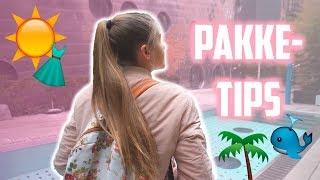 PAKK MED MEG TIL NEW YORK I VLOGGSTYLE! Jeg deler pakke-tipsene mine! | Mina Jacobsen