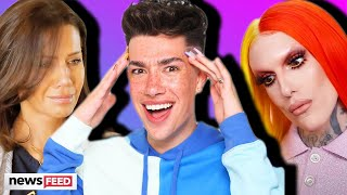 James charles was just interviewed for the first time about tati westbrook, shane dawson, jeffree star drama that's been unfolding over past week. wa...