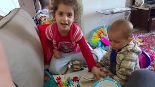 Oyuncakla Yemek Ve Pasta Yapma Oyunu - Azranın Mutfağı - Niloyalı Pasta - Evcilik Oyunu